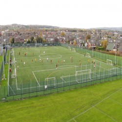Artificial Turf Replacement in Heol-laethog 5