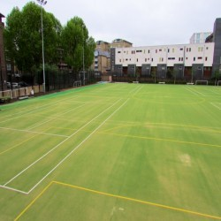 Artificial Turf Replacement in Alder Row 1