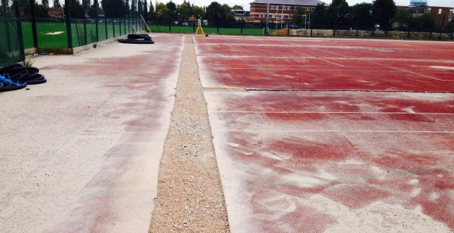 Uplift of Sport Surfaces in Baddeley Green