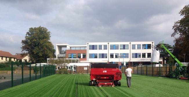 Artificial 3G Grass in Aber-banc