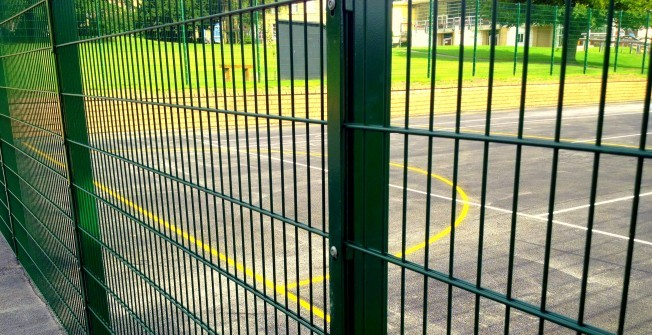 Sports Fencing Renovation in East Dunbartonshire