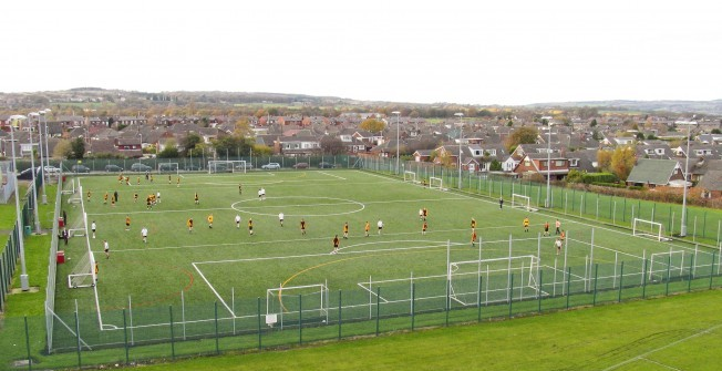 Artificial 4G Pitches in Nicholaston