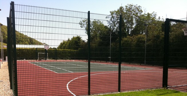 Sports Pitch Fencing in Partington