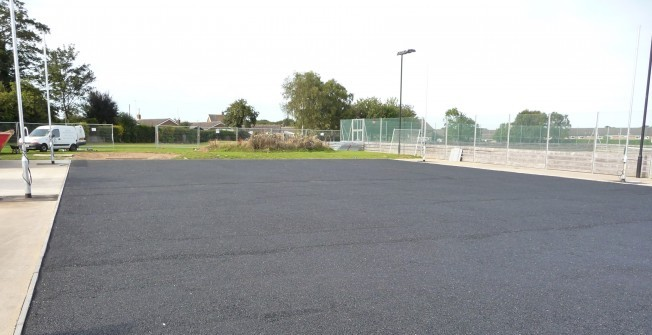 Upgrading Sports Shockpad in Holmrook