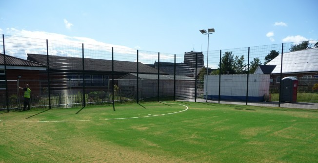 2G Artificial Sports Pitches in Fovant