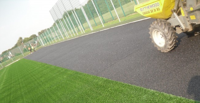 Synthetic Pitch Resurface in Hebburn New Town