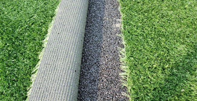 Resurfacing Artificial Turf in Bornesketaig / Borgh na Sgiotaig