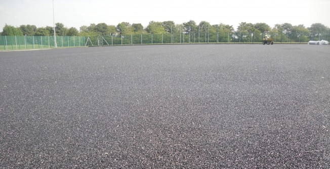 Astroturf Sub Base in Alderton Fields